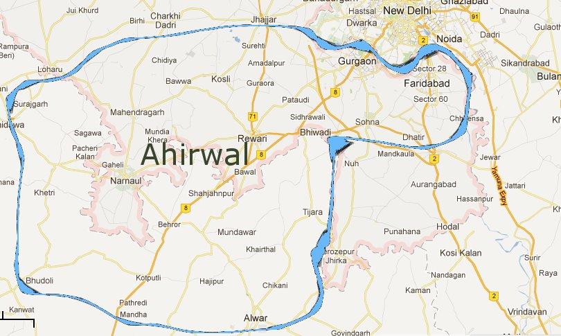 Ahirwal Region