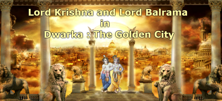 Dwarka Golden City Krishna Balrama