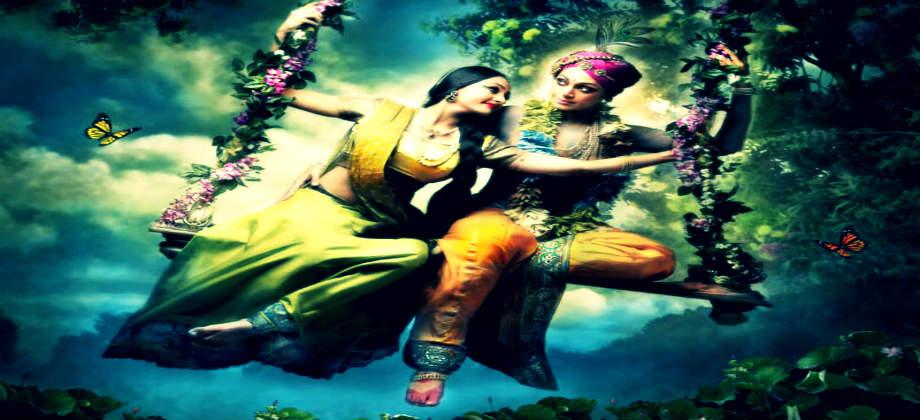 Krishna Radha Spiritual Love