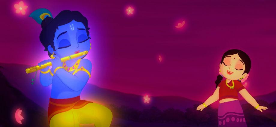 Krishna Radha Childhood