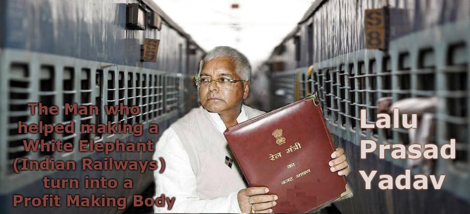 Lalu Prasad Yadav Railways