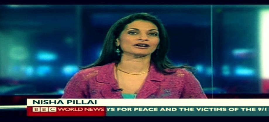 Nisha Pillai BBC