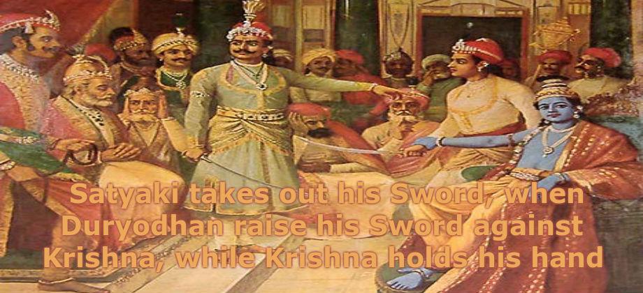 Satyaki Krishna Duryodhana