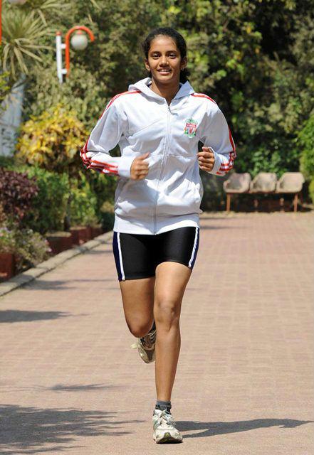 Swapnali Yadav Running